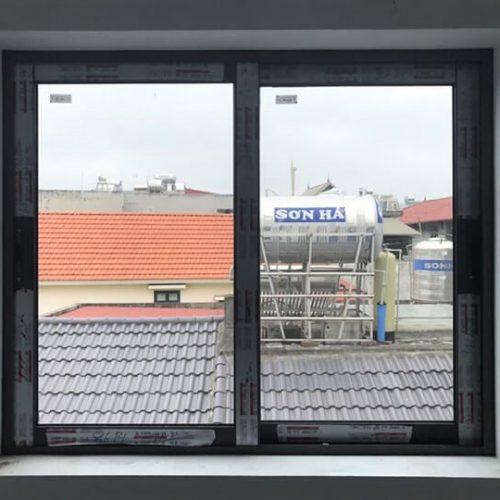 cửa sổ nhôm xingfa mở trượt 2 cánh